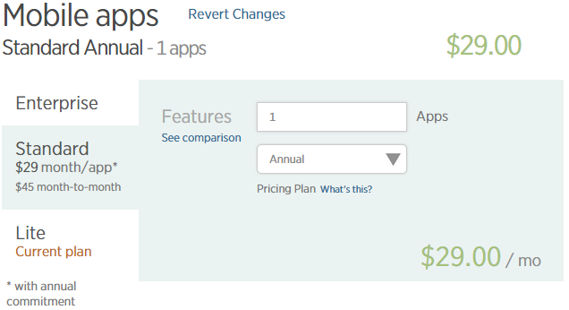 New Relic Mobile Pricing